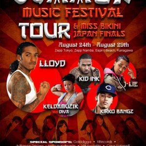 Event Press Japan tour LLoyd Music Festival